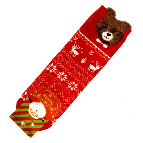 Vianočné ponožky - zimný motív