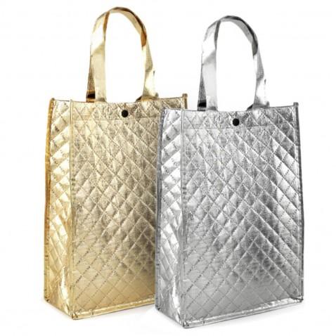 Taška metalická 23 x 33 cm | Dámske kabelky