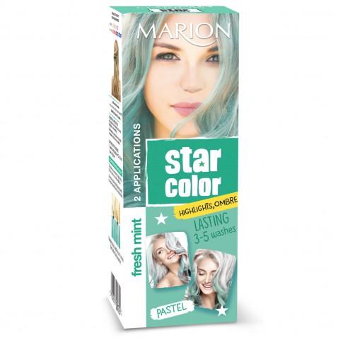 Marion Star Color zmývateľná farba na vlasy Fresh Mint, 2 x 35 ml