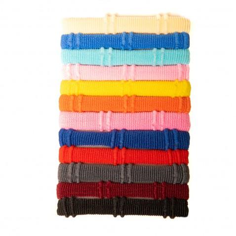 Sada gumičiek Multicolor 12 ks