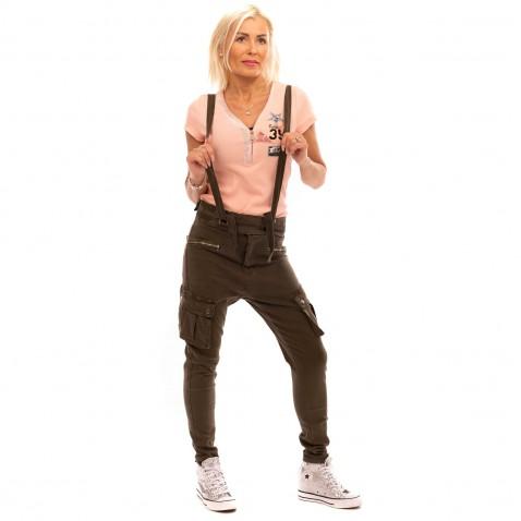 Dámske baggy Freestyle - khaki