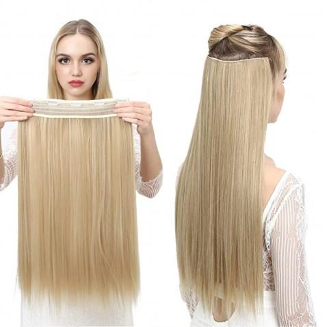 Clip in vlasy - 60 cm dlhý pás vlasov - odtieň F22/613