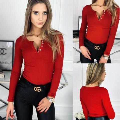 Dámske tričko Evelyn - červené