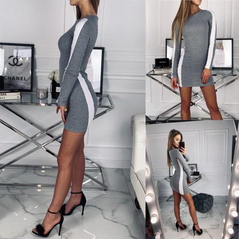 Dámske elastické šaty Ella Gray