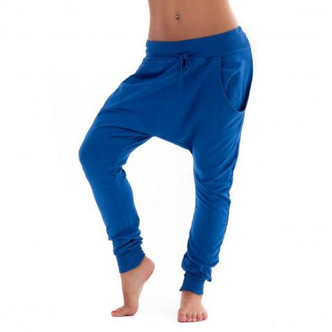 Teplákové baggy - modré
