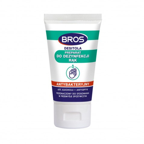 Bros Antibakteriálny gél na ruky 60% alkoholu, 40 ml