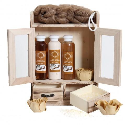 Brubaker Luxusná darčeková sada Coconut Spa v skrinke