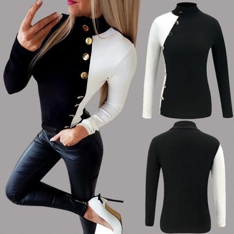 Dámske streetwearová tričko Black & White