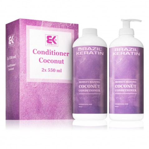 Brazil Keratin Conditioner Coconut 2 x 550 ml