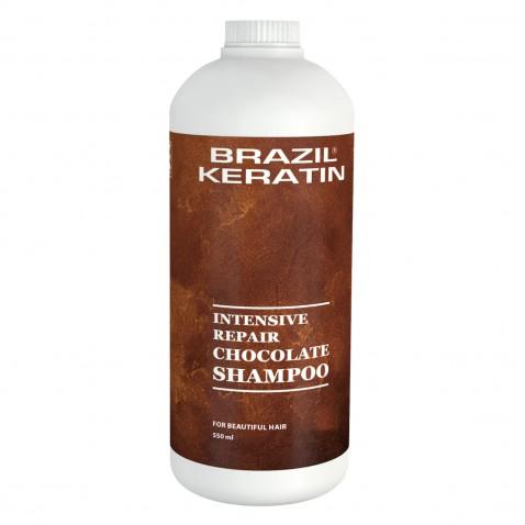 Brazil Keratin Shampoo Chocolate 550 ml
