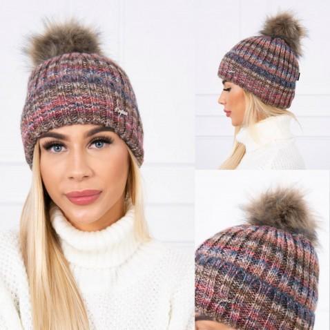 Dámska čiapka Chloe - Plum