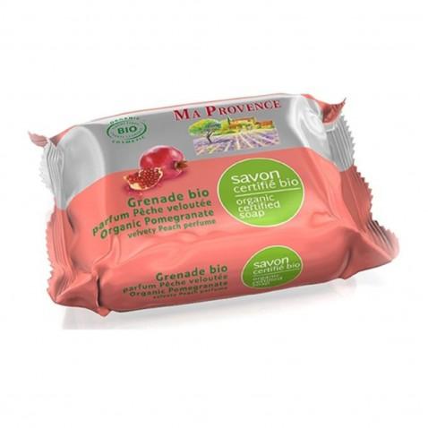 Prírodné bio mydlo Ma Provence - granátové jablko, 75g