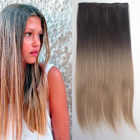Clip in vlasy - rovný pás - ombre - odtieň 2 T 16