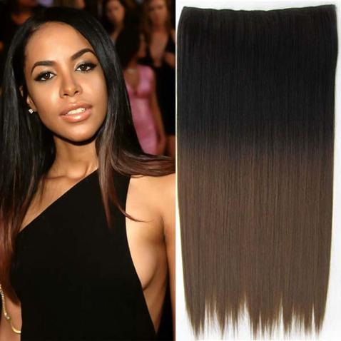 Clip in vlasy - rovný pás - ombre - odtieň 2 T 10