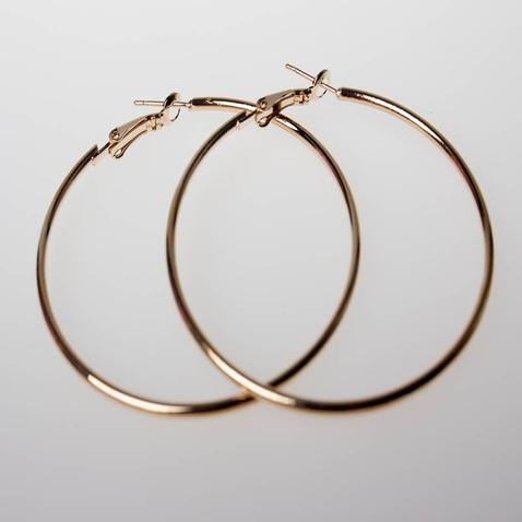 Náušnice - kruhy - zlaté