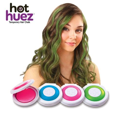 Hot Huez - umývateľné vlasové farby s rýchlym aplikátorom