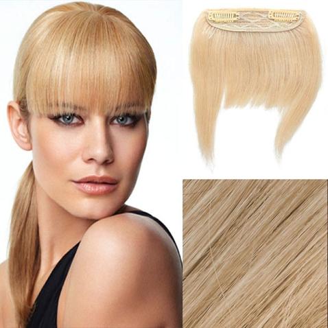 Clip in ofina - REMY 100% ľudské vlasy - 613 - blond