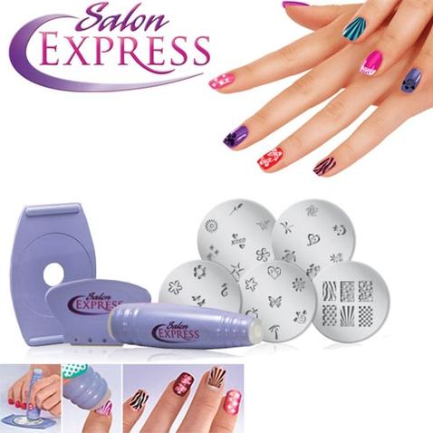 Pečiatky na nechty Salon Express