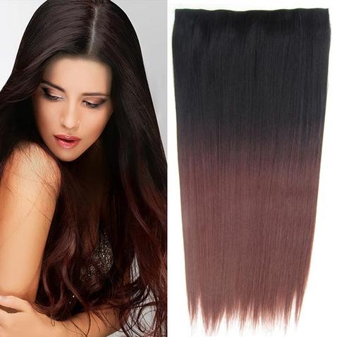 Clip in vlasy - rovný pás - ombre - odtieň 2 T 33