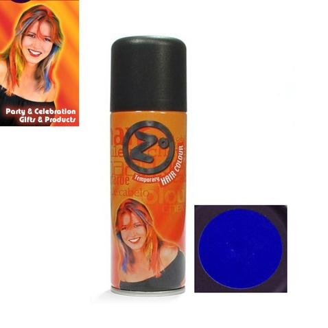 Farebný lak na vlasy - modrý