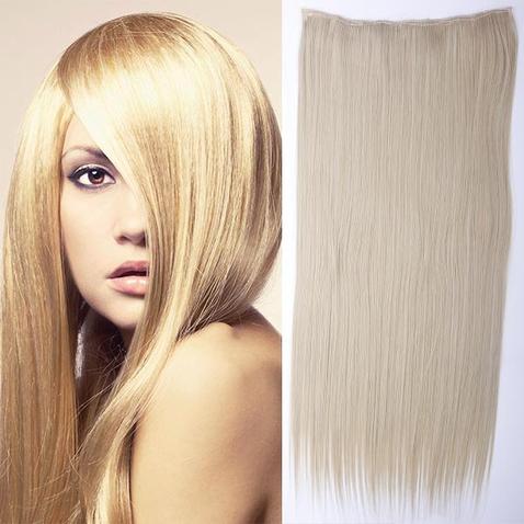 Clip in vlasy - 60 cm dlhý pás vlasov - odtieň M24/613