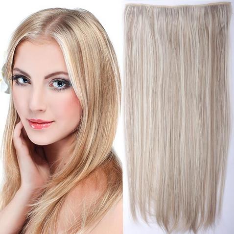 Clip in vlasy - 60 cm dlhý pás vlasov - odtieň F16/613