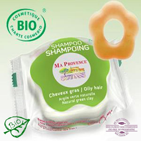 Tuhý šampón Bio Ma Provence na mastné vlasy, 85 g