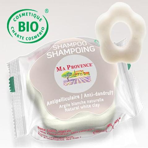 Tuhý šampón Bio Ma Provence proti lupinám, 85 g