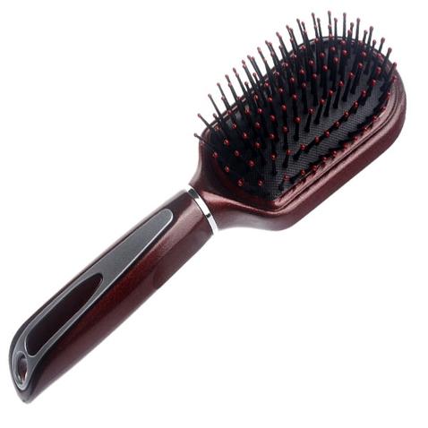 Špeciálna kefa na CLIP IN vlasy Burgundy Comb