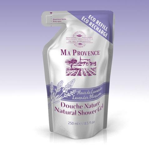 Bio sprchový gél Ma Provence Levanduľa - náhradná náplň 250 ml