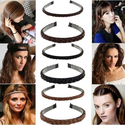Čelenka do vlasov - pletené vlasy