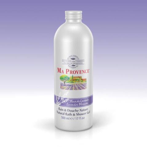 Bio sprchový gél a pena do kúpeľa 2v1 Ma Provence Levanduľa, 500ml