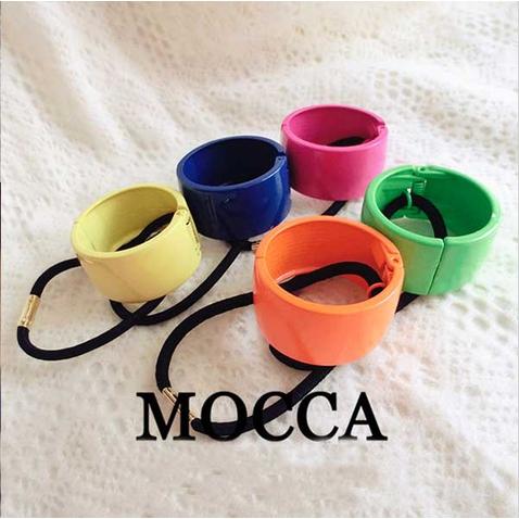 Spona pre tvorbu copu kovový obojok - samozatvárací MOCCA
