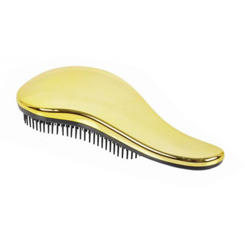 Dtangler rozčesávacia kefa na vlasy - Silver  Gold