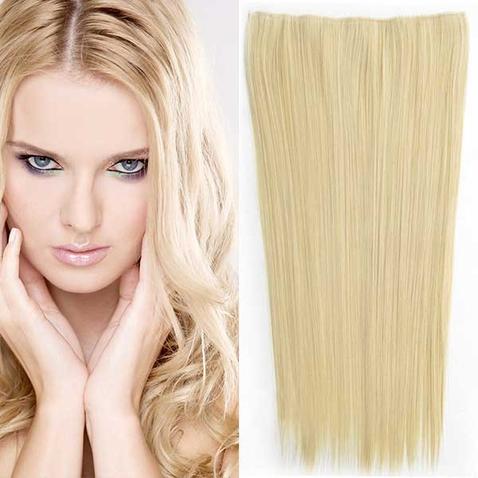 Clip in vlasy - 60 cm dlhý pás vlasov - odtieň M22/613