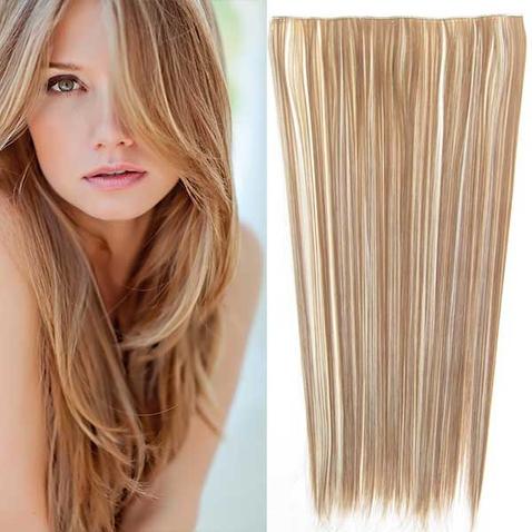 Clip in vlasy - 60 cm dlhý pás vlasov - odtieň F613/12