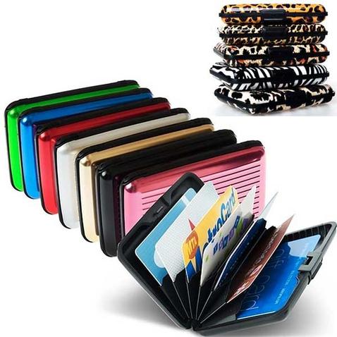 Puzdro na doklady a platobné karty ALUMA WALLET