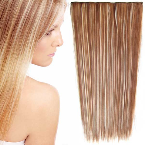 Clip in vlasy - 60 cm dlhý pás vlasov - odtieň F613/30