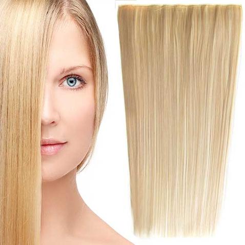 Clip in vlasy - 60 cm dlhý pás vlasov - odtieň F613/18