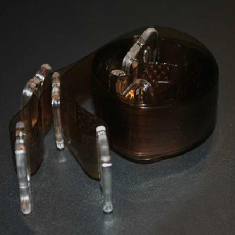 Silikónové ramienka k podprsenke - priehľadne hnedé
