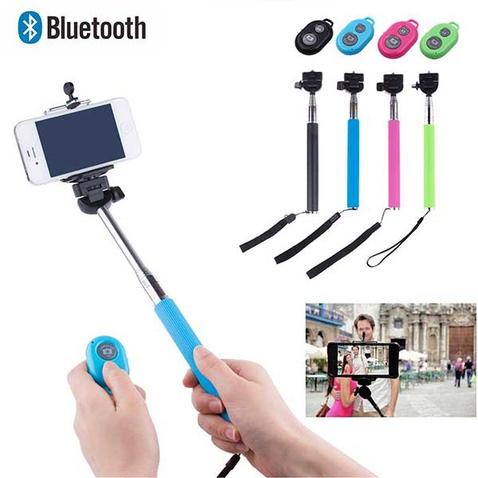 Teleskopická selfie tyčka s bluetooth ovládaním