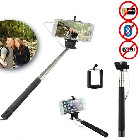 Teleskopická selfie tyč so spúšťou