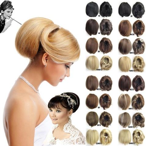 Príčesok - drdol á la Audrey Hepburn - výber odtieňov