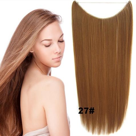Flip in vlasy - 55 cm dlhý pás vlasov - odtieň 27