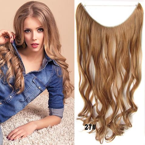 Flip in vlasy - vlnitý pás vlasov - odtieň 27