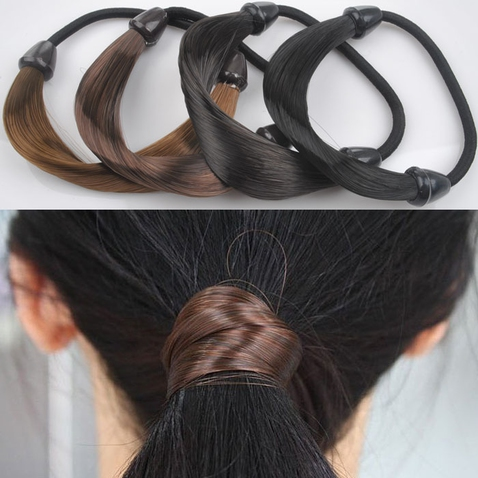 Gumička do vlasov s vlasmi