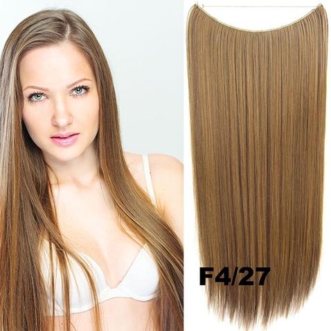 Flip in vlasy - 55 cm dlhý pás vlasov - odtieň F4/27