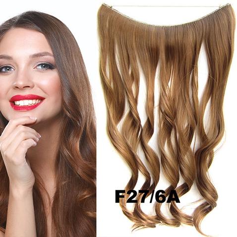 Flip in vlasy - vlnitý pás vlasov - odtieň F27/6A