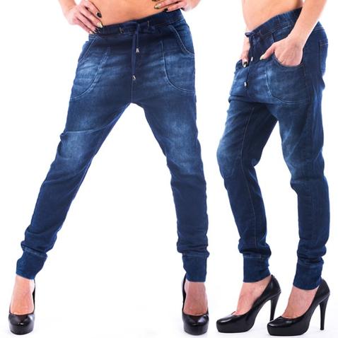 Dámské jeans haremky CHIC