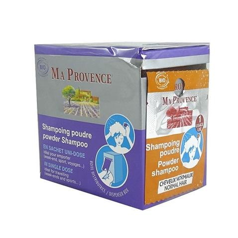 Práškový šampón Bio Ma Provence na normálne vlasy